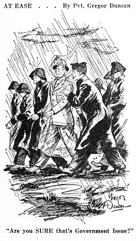 Gregor Duncan At Ease WWII