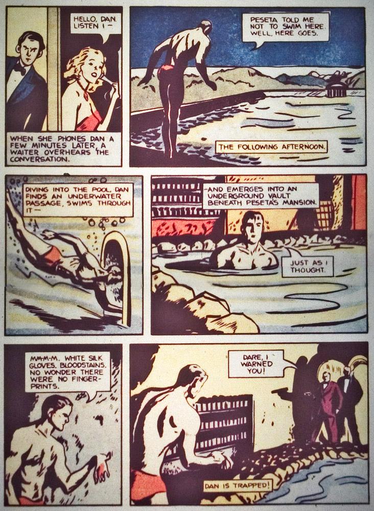Gregor Duncan Dan Dare Whiz Comics