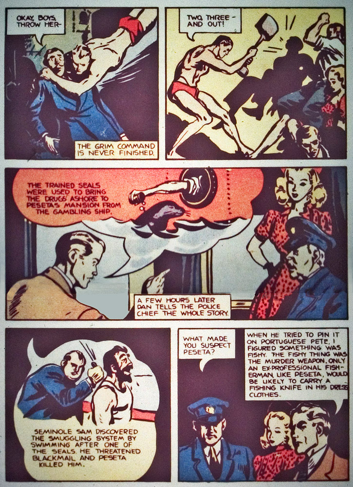 Gregor Duncan Whiz Comics Dan Dare