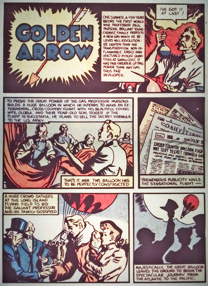 Gregor Duncan Whiz Comics Golden Arrow