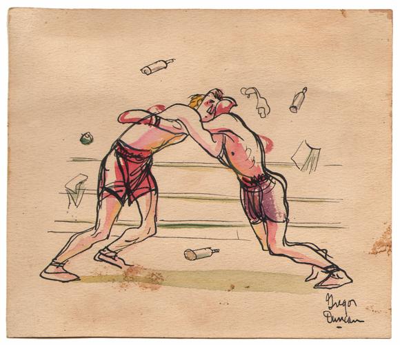 Gregor Duncan Boxers Clutch