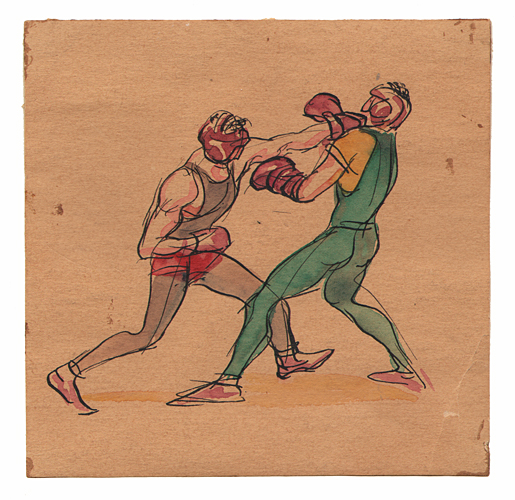 Gregor Duncan Boxers Stillman's Gym