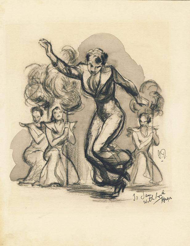 Gregor Duncan Dancers Burlesque New Jersey