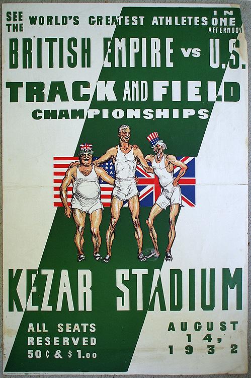 Gregor Duncan Track Field 1932 Michael Mattis