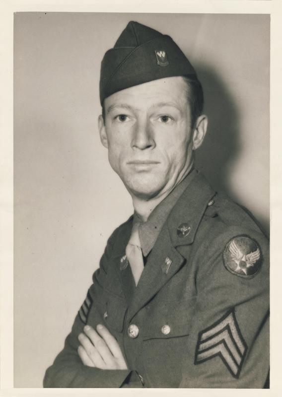 Gregor Duncan Army Air Force AAF 1944