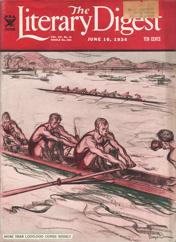 Gregor Duncan Literary Digest 1934
