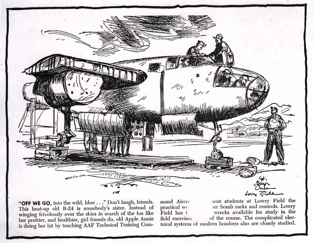 Gregor Duncan PM Newspaper Bomber WWII