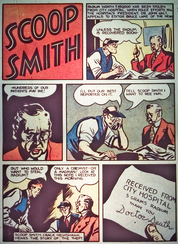 Gregor Duncan Scoop Smith Whiz Comics