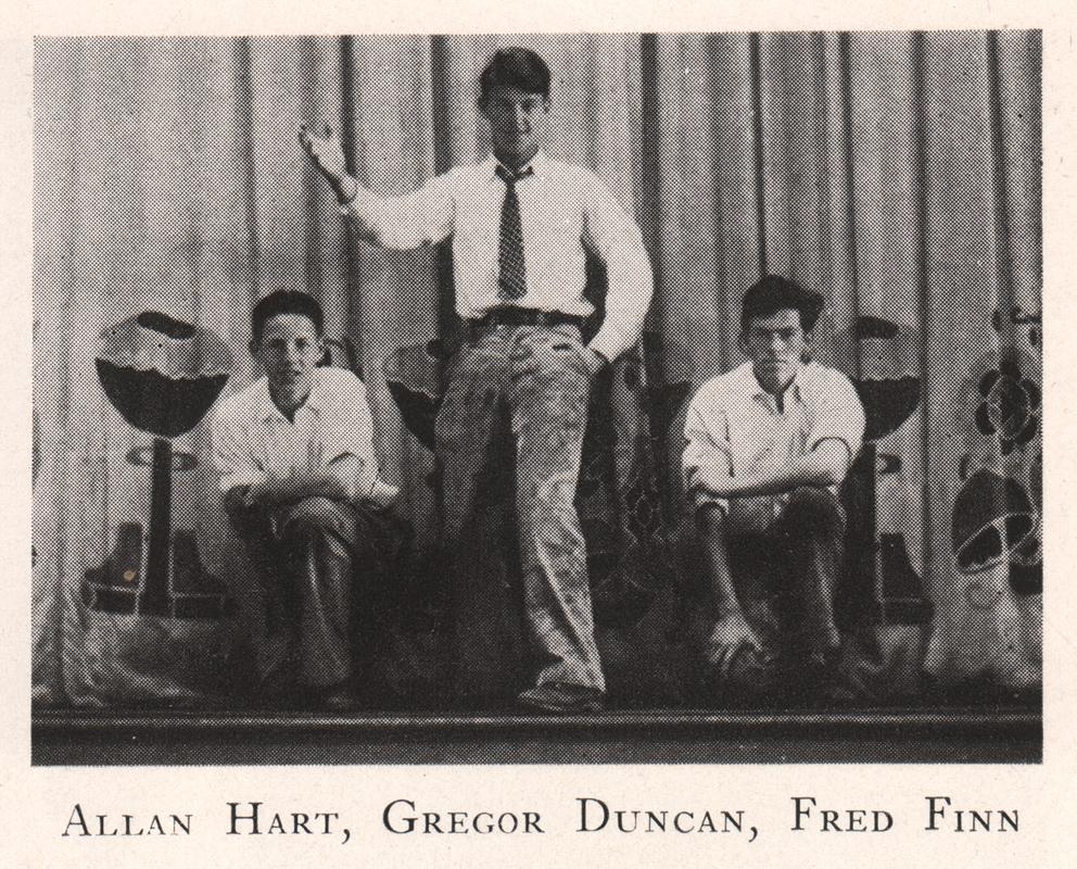 Gregor Duncan inTamalpai High School