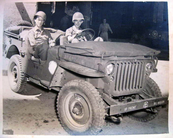 Gregor Duncan Bill Mauldin Willie Joe Willy Jeep Up Front